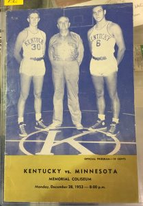 kentucky 1953 program